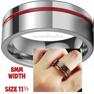 NWOT Men's 8mm Classic Ring Band - Size 11½